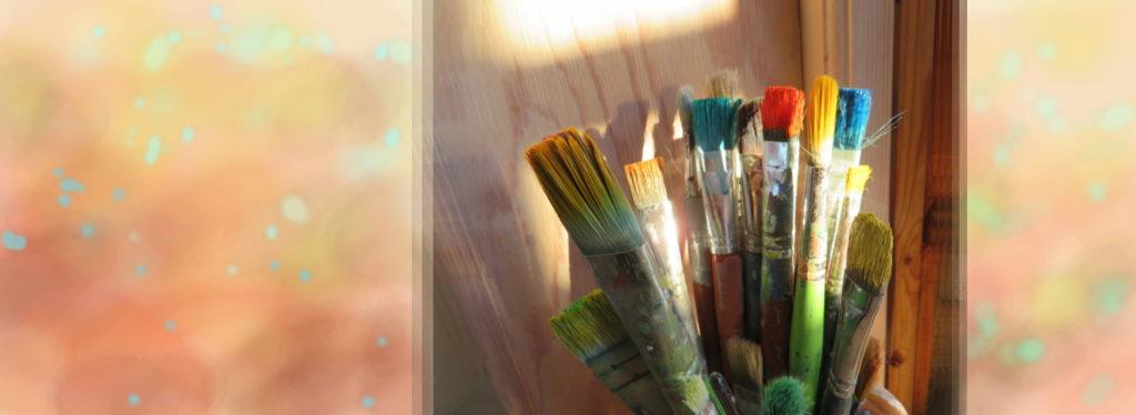 Penslar i färger